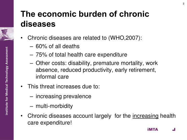 The economic burden of chronic diseases