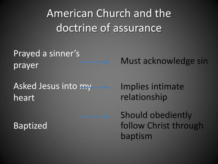 American Church and the