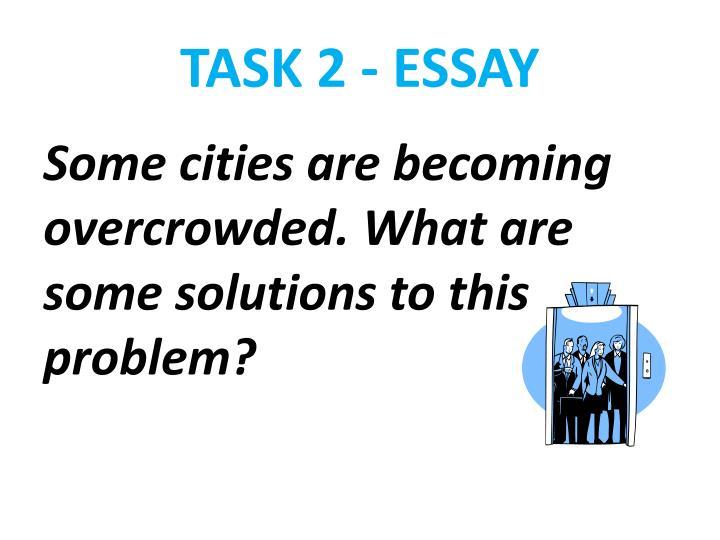 TASK 2 - ESSAY