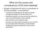 what are the causes and consequences of ed overcrowding3