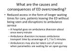 what are the causes and consequences of ed overcrowding4