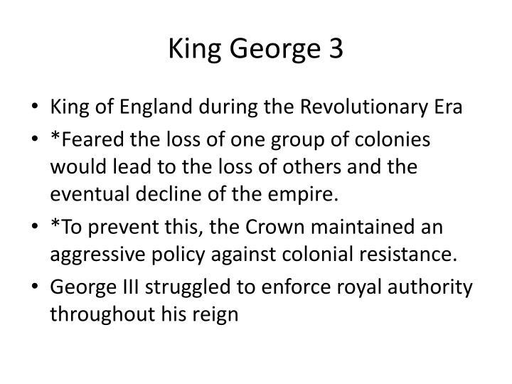 King George 3