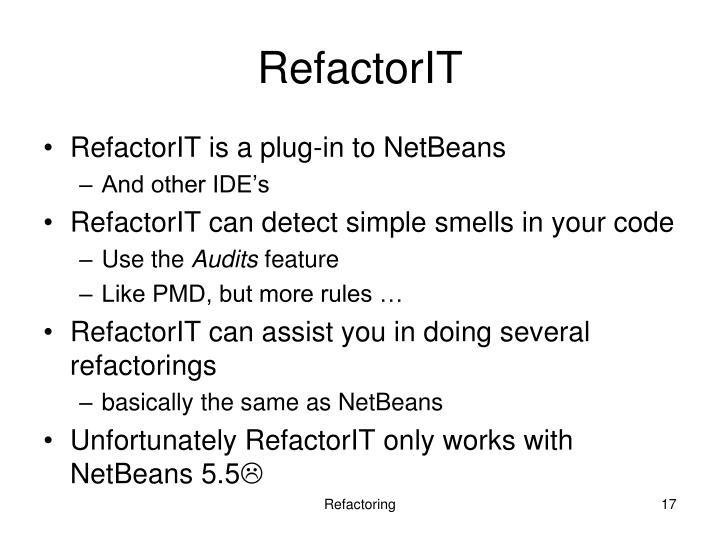 RefactorIT