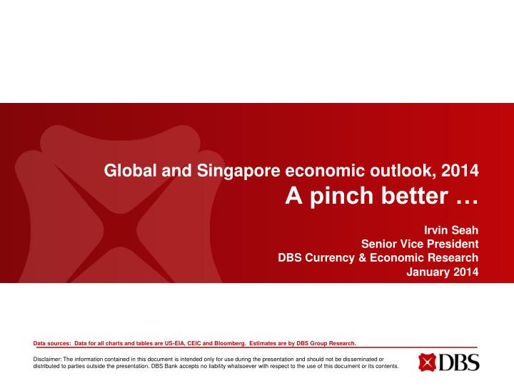 Global and singapore economic outlook 2014 a pinch better