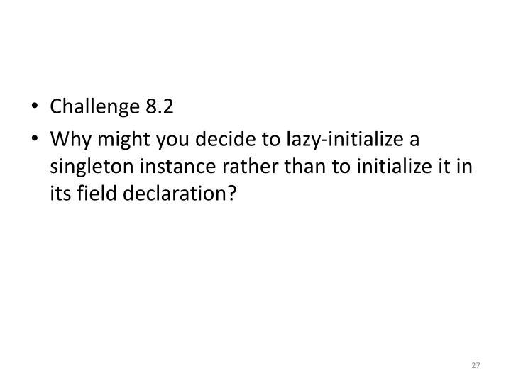 Challenge 8.2
