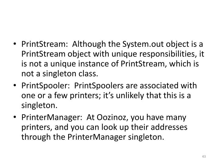 PrintStream