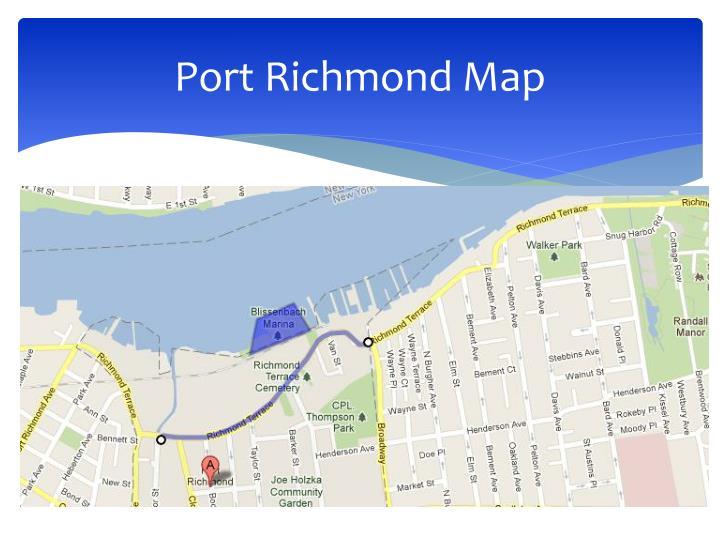 Port Richmond Map