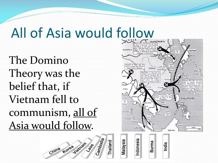 All of Asia would follow
