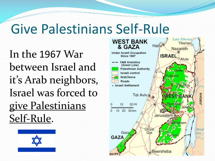 Give Palestinians Self-Rule