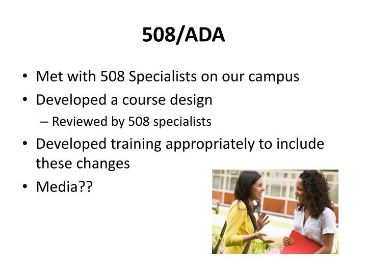 508/ADA