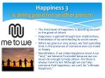 happiness 3 is doing good for another person