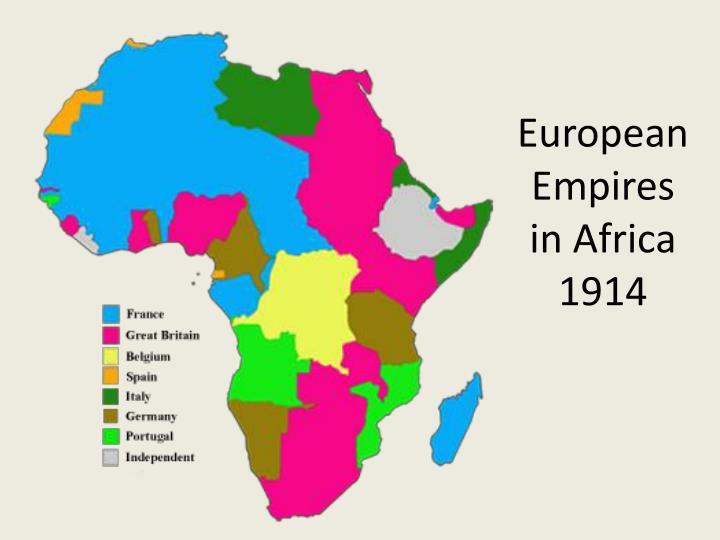 European Empires in Africa
