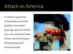 attack on america
