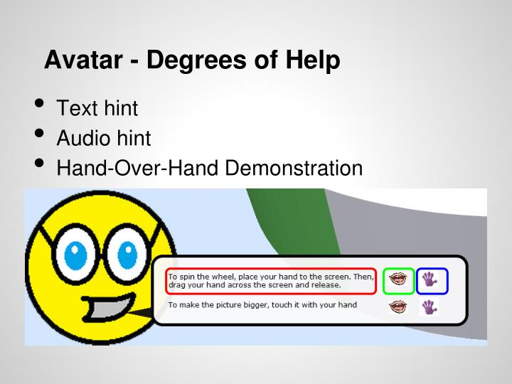 Avatar - Degrees of Help