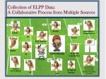 collection of elpp data a collaborative process from multiple s ources