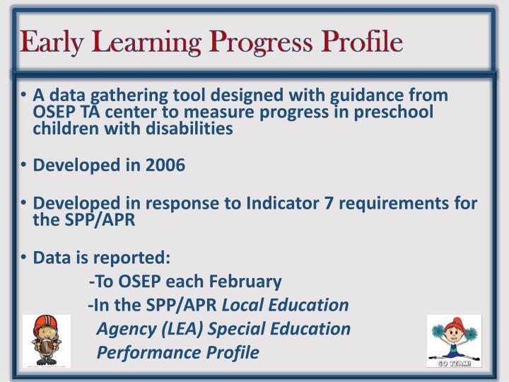 Early Learning Progress Profile