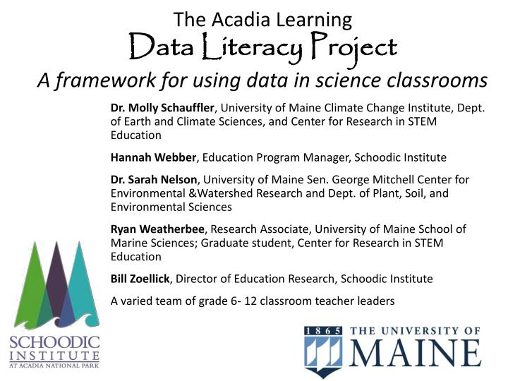 The Acadia Learning