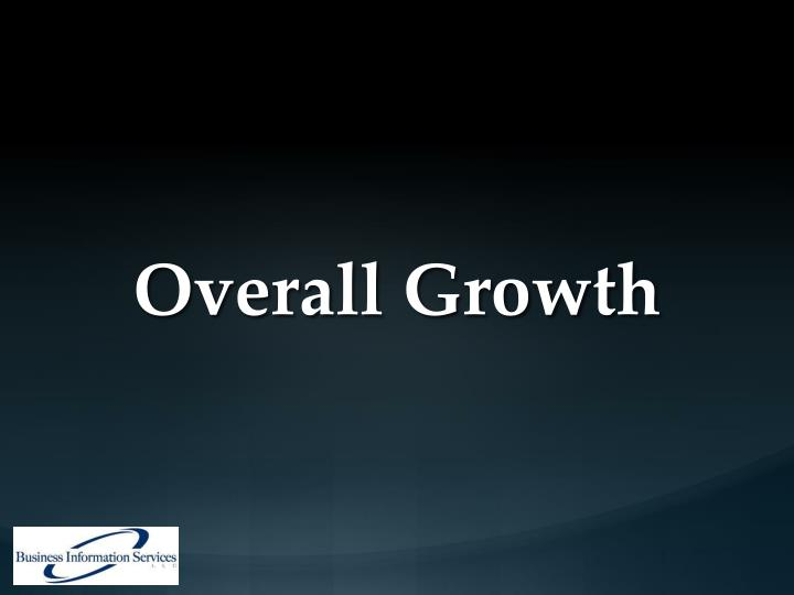 Overall Growth