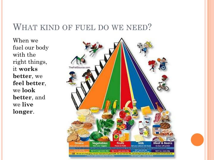 What kind of fuel do we need?