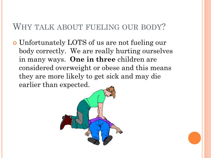 Why talk about fueling our body?