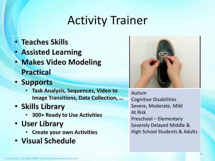 Activity Trainer