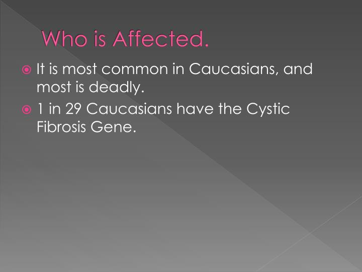 Who is Affected.