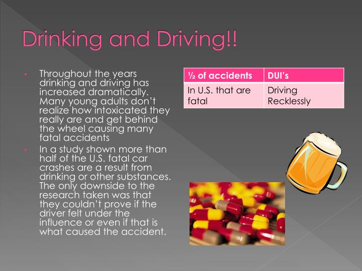 Drinking and Driving!!