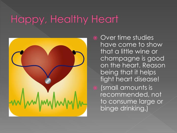 Happy, Healthy Heart