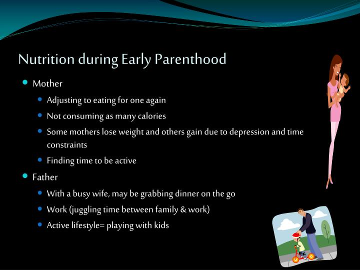Nutrition during Early Parenthood