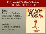 the grupo dos cinco the group of five