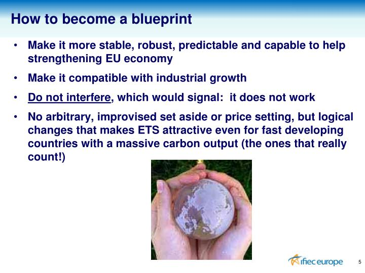 How to become a blueprint