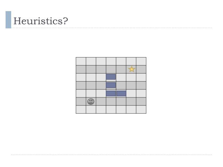 Heuristics?