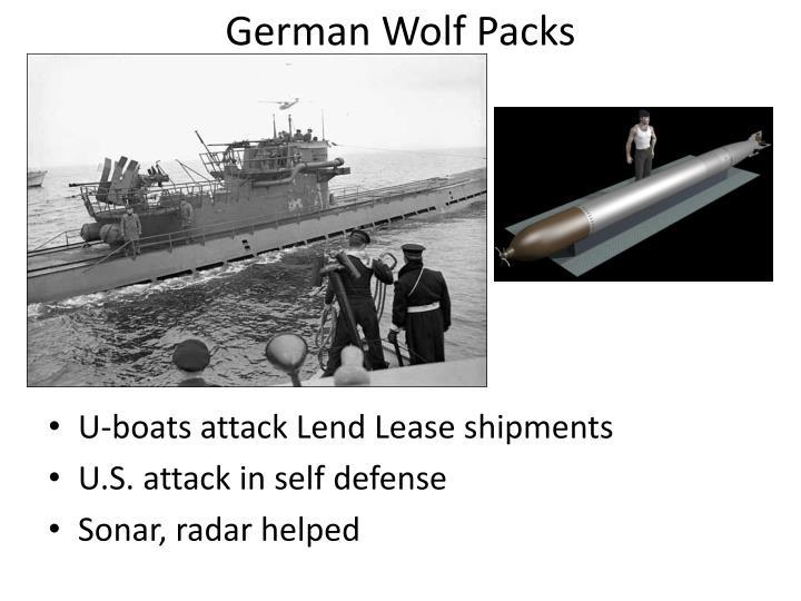 German Wolf Packs