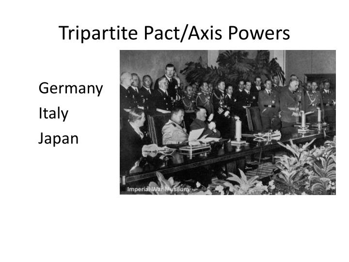 Tripartite Pact/Axis Powers
