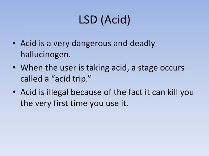 LSD (Acid)