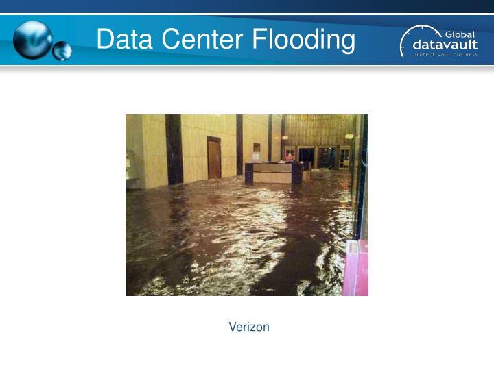 Data Center Flooding