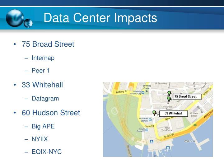 Data Center Impacts
