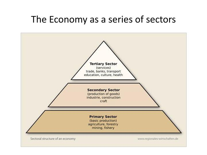 The Economy as a series of sectors