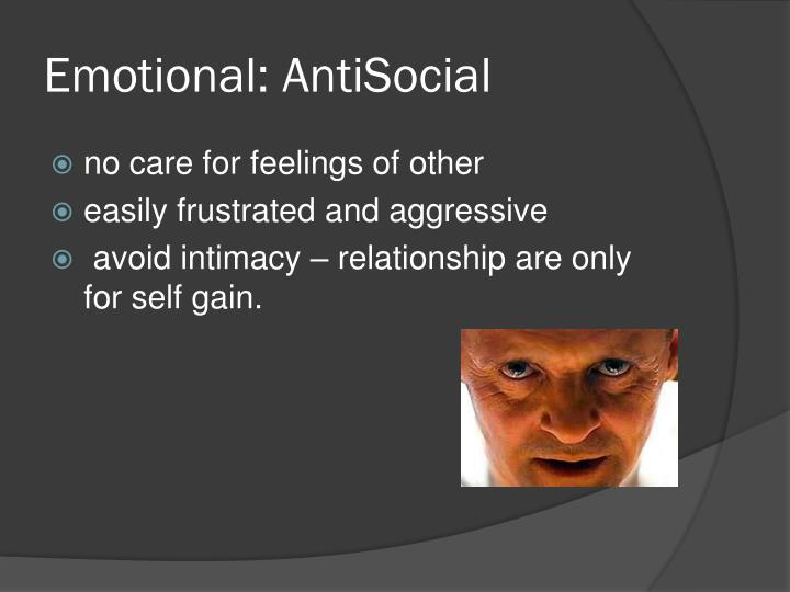 Emotional: