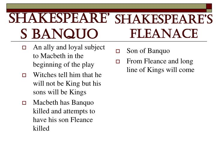 Son of Banquo