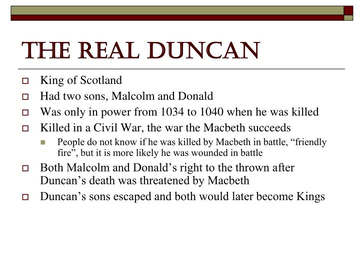 The Real Duncan