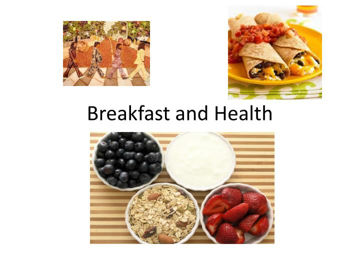 breakfast and health