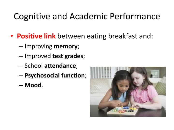Cognitive and Academic Performance