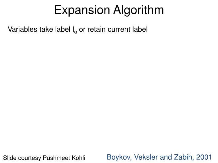 Expansion Algorithm