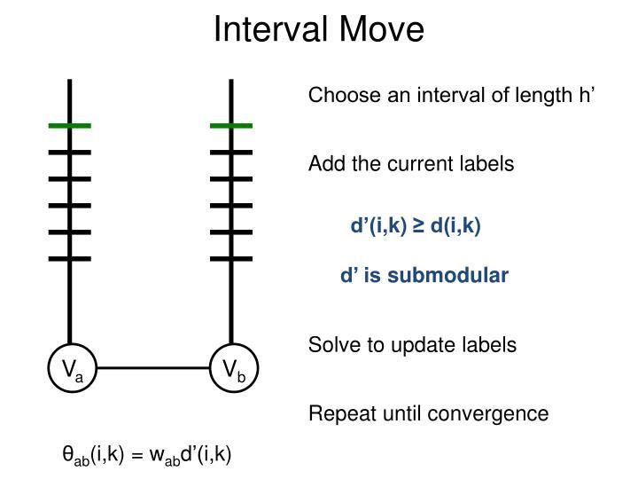 Interval Move