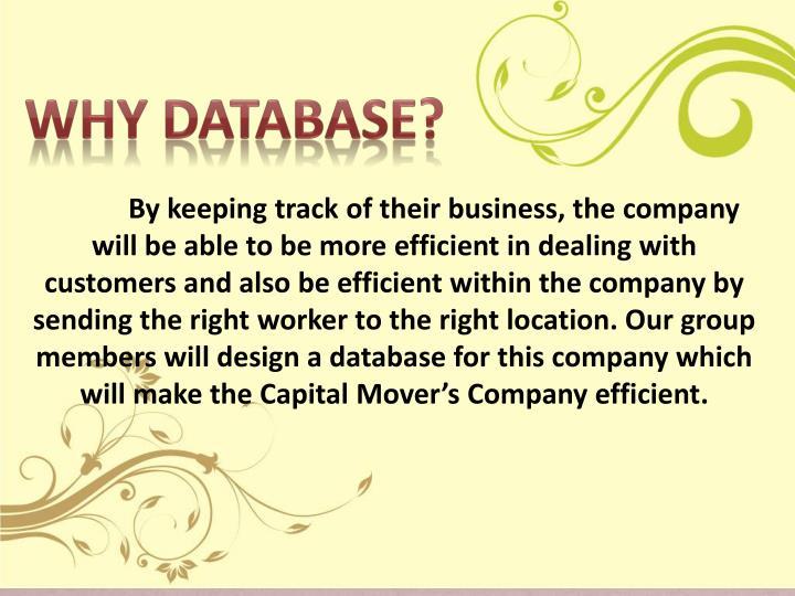 Why Database?