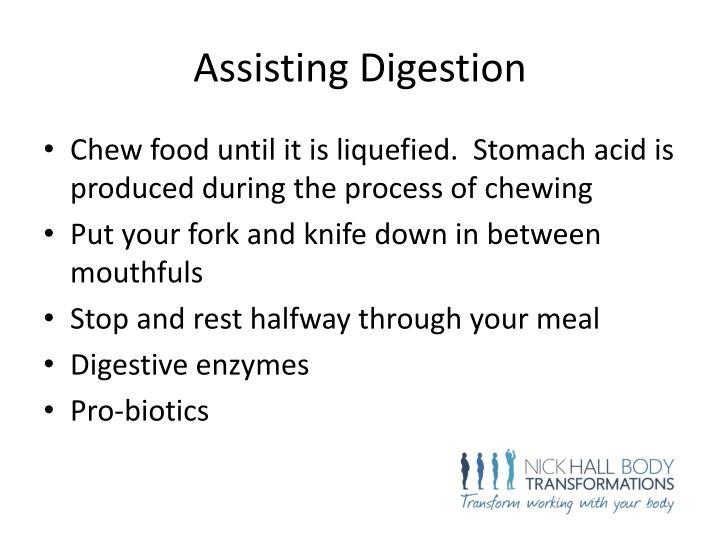 Assisting Digestion