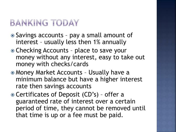 Banking Today