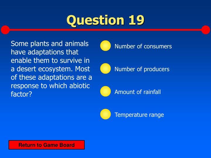 Question 19