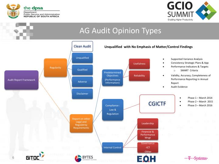 AG Audit Opinion Types